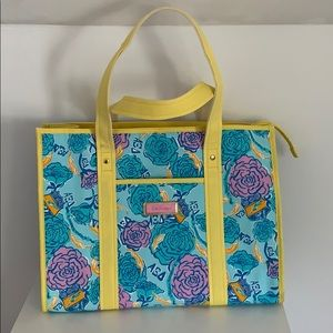 Lilly Pulitzer Bags - Lilly Pulitzer Alpha Xi Delta tote
